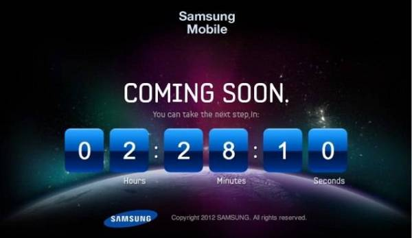 Samsung Galaxy SIII teaser video