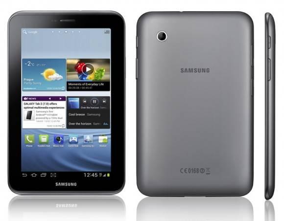Test Samsung Galaxy Tab 2 7.0