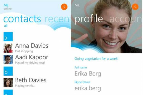 Nova Skype aplikacija za Windows Phone korisnike