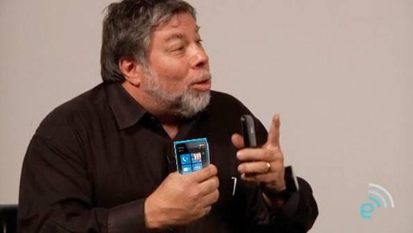 Šta je Stiv Voznijak rekao za Windows telefon