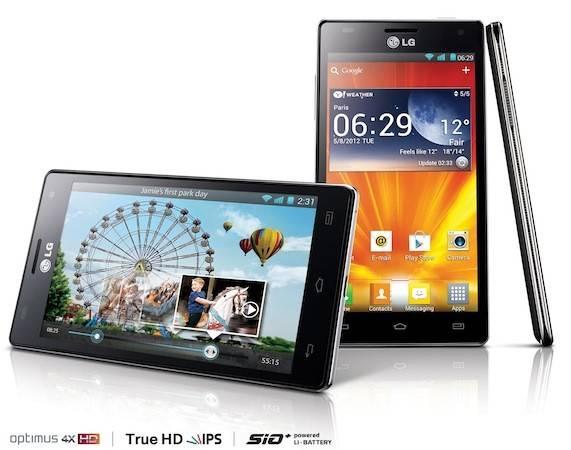 Novi LG Optimus 4X HD telefon