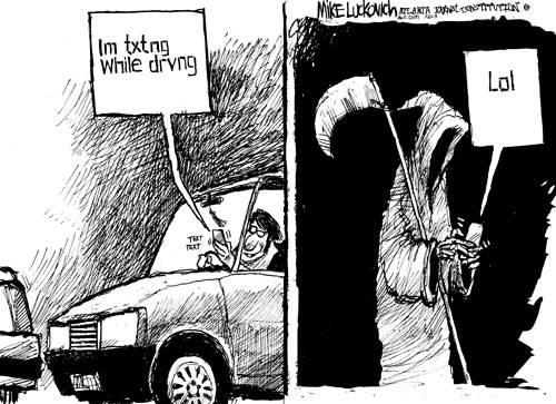 Da li je bezbedno kucati poruku dok vozite? Pogledajte