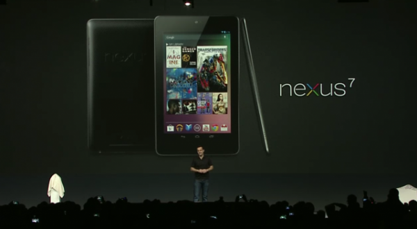 Google Nexus 7 tablet je objavljen