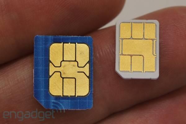 Micro SIM kartice postaju standard