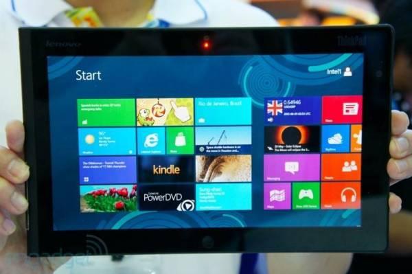 Prvi Windows 8 tablet od kompanije Lenovo