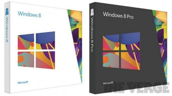 Slika pakovanja Windows 8 DVD-eva