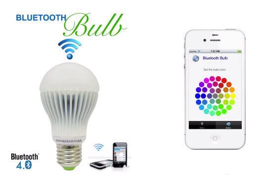 Bluetooth sijalica – upravljanje svetlom iz fotelje