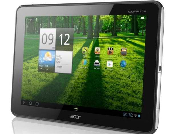 Acer Iconia Tab A700 primio Jelly Bean update