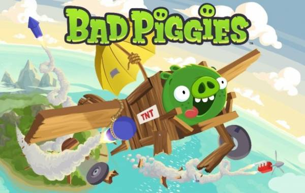 Rovio pravi Bad Piggies igru