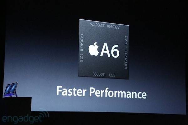 Specifikacije Apple A6 procesora