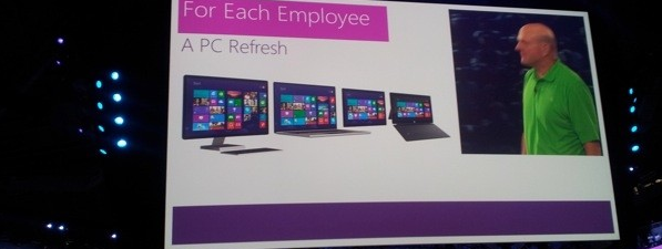 Microsoft poklanja stalno zaposlenima Surface tablete, Windows Phone 8 uređaje i PC računare