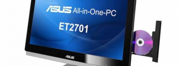 Predstavljen Asus ET2701 all-in-one PC