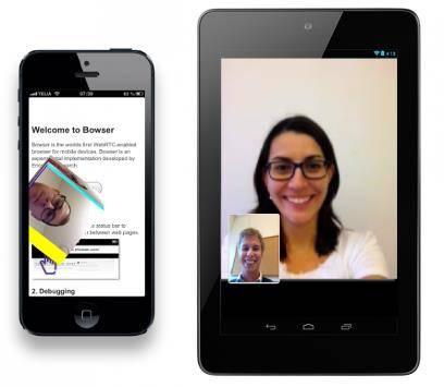 Ericsson predstavio WebRTC brauzer za mobilne uređaje