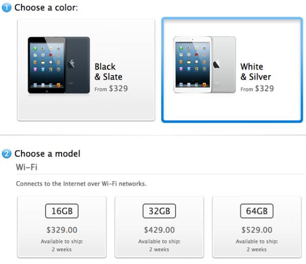 Apple rasprodao inicijalnu količinu tableta