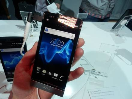 Sony Xperia P test