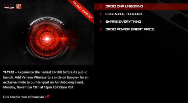HTC Droid DNA telefon će biti sutra predstavljen