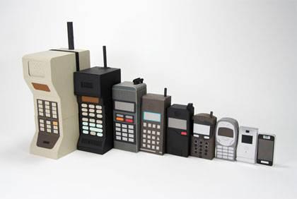 Istorijat mobilnih telefona