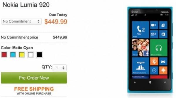 AT&T objavio punu cenu Lumia 920 telefona – šta to znači za nas?