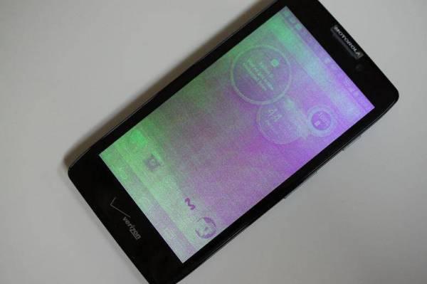 Motorola Droid RAZR HD telefon ima probleme sa ekranom