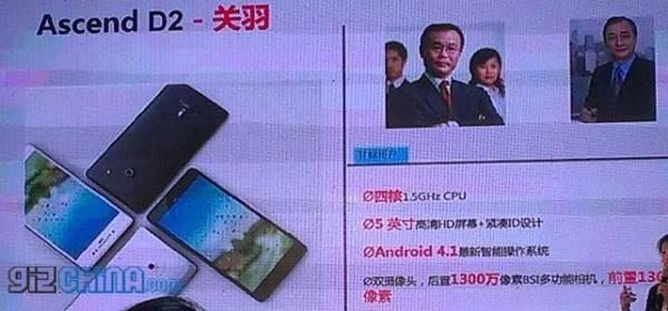 Huawei nagovestio o prvom fabletu nazvanom Ascend D2