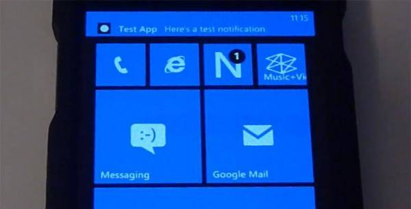 Windows Phone 8 možda dobija centar za notifikacije