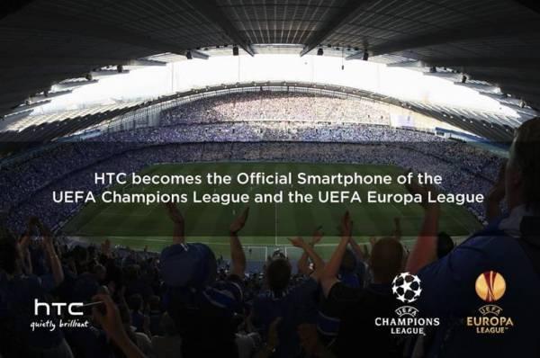 HTC je sponzor UEFA Lige šampiona
