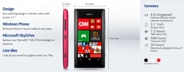Novi Nokia Lumia telefon sada dostupan
