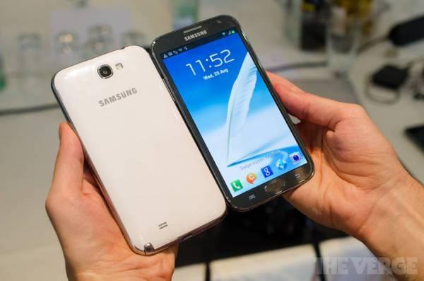 Samsung Galaxy Note 2 u raznim bojama