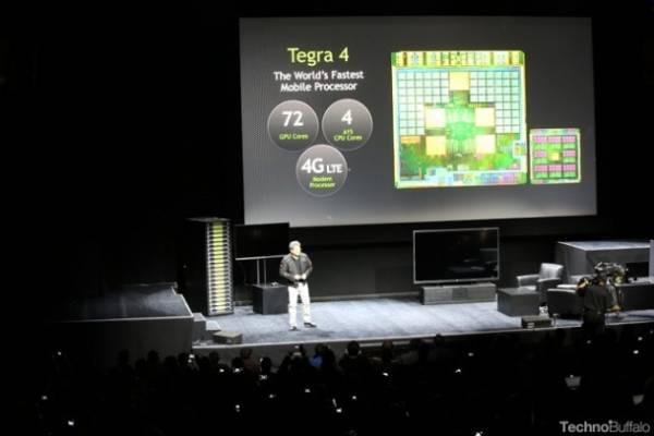 NVIDIA predstavila Tegra 4 procesor