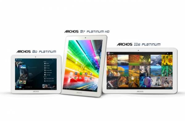 Archos Platinum serija tableta konačno u prodaji