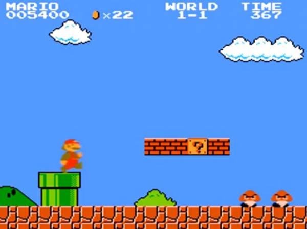 Super Mario iz prvog lica
