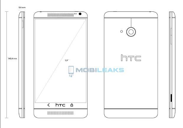 Procurela skica HTC T6 telefona