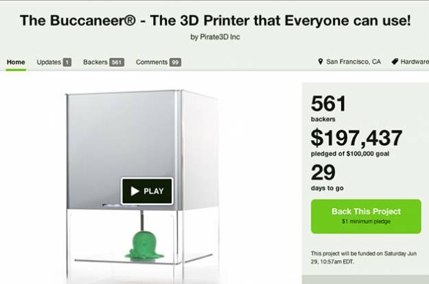 Buccaneer printer